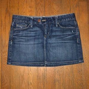 Gap Denim Miniskirt